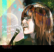 Ishida's illustration to Christina Grimmie after her death