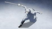Arima using Narukami's second offensive mode