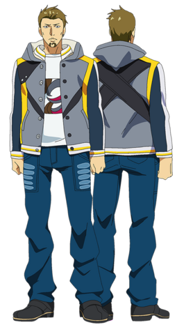 File:Banjou anime design full view.png