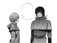 Touka and Ayato in Cochlea