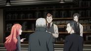 Itori, Yomo, Uta, Koma and Irimi at Anteiku