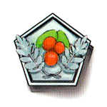 Osmanthus medal silver