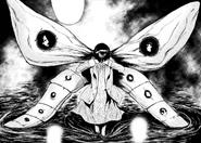 Hinami's kagune in volume 3