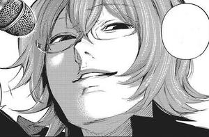 Nishiki asks Kaneki to join him to sing