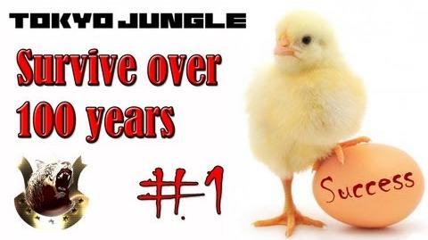 Tokyo Jungle Survive over 100 years (Chick) Part 1