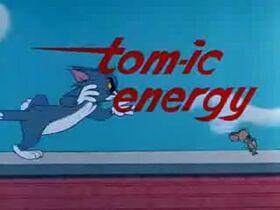 Tom-ic Energy Title Screen