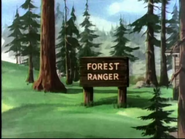 Grim and Bear It - Forest Ranger sign