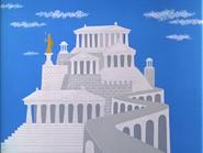 It's Greek to Me-ow - Greek Acropolis