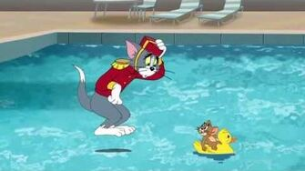Pool Tom and Jerry Cartoon World