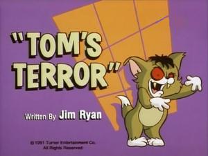 Tom's Terror title