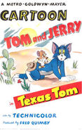 Texas Tom Poster - Lighter Colors