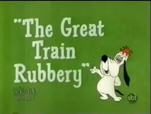 The Great Train Rubbery title