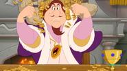 Prince John loves money