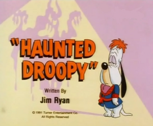 Haunted Droopy title