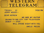 Pecos Pest - Uncle Pecos' letter