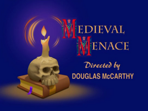 Medieval Menace title