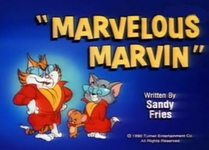 Marvelous Marvin title