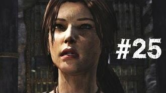 Tomb Raider Gameplay Walkthrough Part 25 - Drop the Elevator (2013)