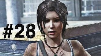 Tomb Raider Gameplay Walkthrough Part 28 - Point of No Return (2013)