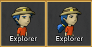 Explorer Hat Icons