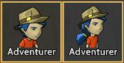 Adventurer Hat Icons