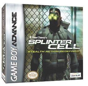 Splinter Cell (GBA) Cover