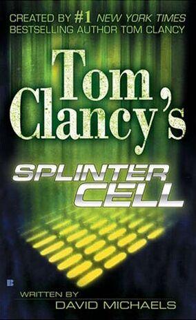 Splinter Cell Novel Cover