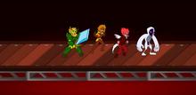 Nylocke, Flamegirl, Alpha and Neomutant