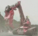 Rescue Shovel Red