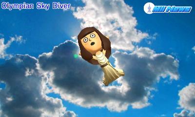 MiiNews Skydiver