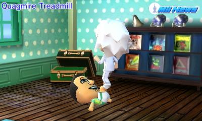Mii Treadmill
