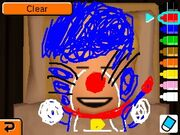 Drawing on Mii's face sleep