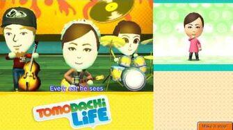 Tomodachi Life Rock & Roll Full Group