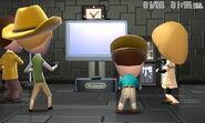Miis using Wii U