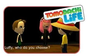 LOVE TRIANGLE!!! - Tomodachi life