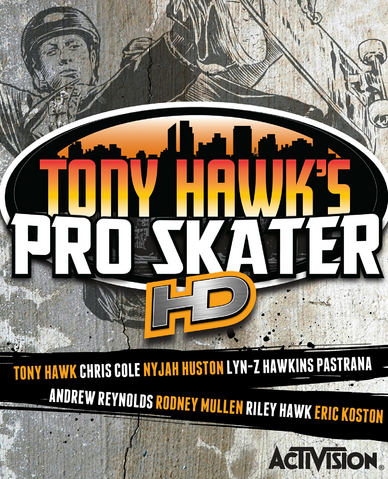 File:Tony Hawk's Pro Skater HD Cover.png