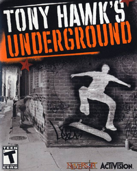 Tony Hawk's Underground Cover