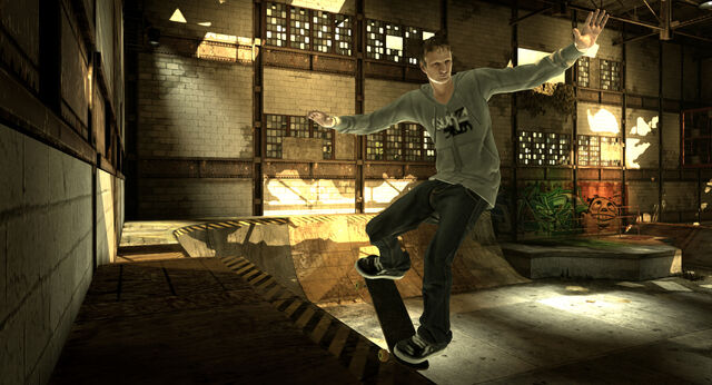 File:THPS HD Screenshot 4 Hawk nosegrind quarterpipe.jpg