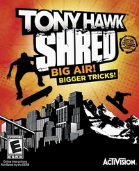 Tony Hawk Shred Cover