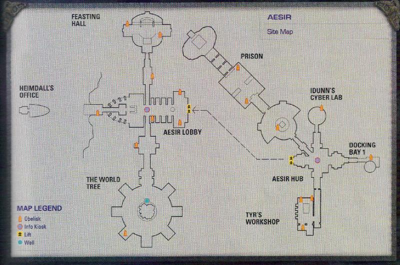 Aesir map