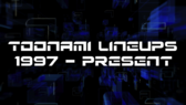 Toonami Lineups