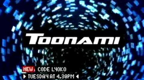 Toonami UK 2005