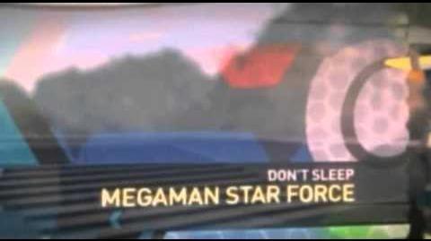Megaman Star Force Toonami Bumpers