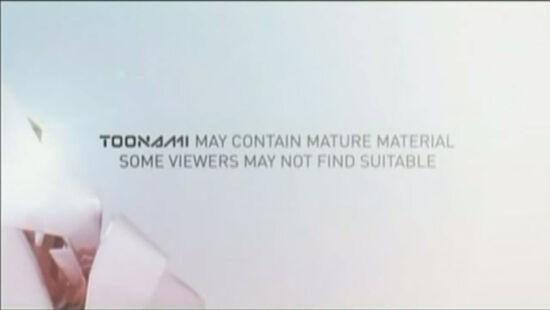 Toonami Disclaimer 2012 version 1