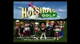Hot Shots Golf - Toonami Game Review (2017 Remaster)