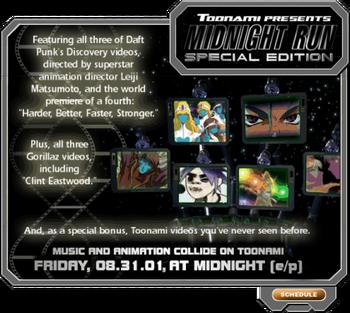 Midnight Run Special Edition (Toonami.com)