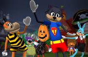 Halloween toontown