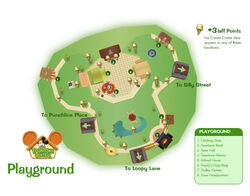 Toontown Central Map