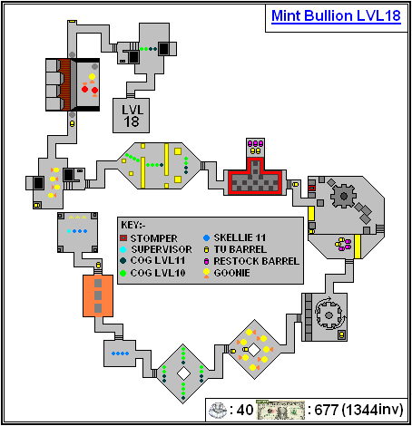 Mint Maps - Bullion Lvl18