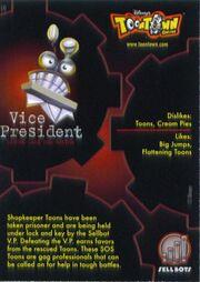 TT V P Card Back